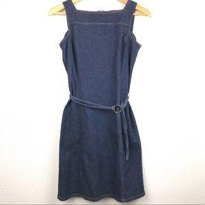 VTG Ann Taylor Denim Dress
